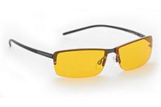 Computer blauwlicht beschermingsbril Prisma Model P1 Amber Lite